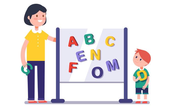 Развивающие занятия для детей 2-3 лет