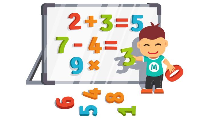 Веселая математика или как научить ребенка таблице умножения?