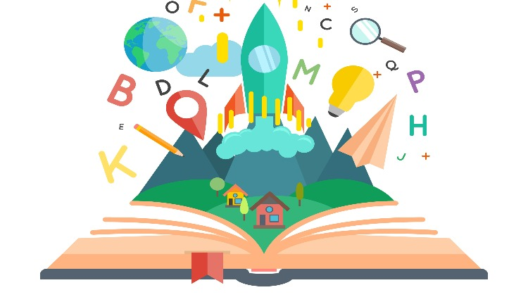 Чтение старых книг детям
