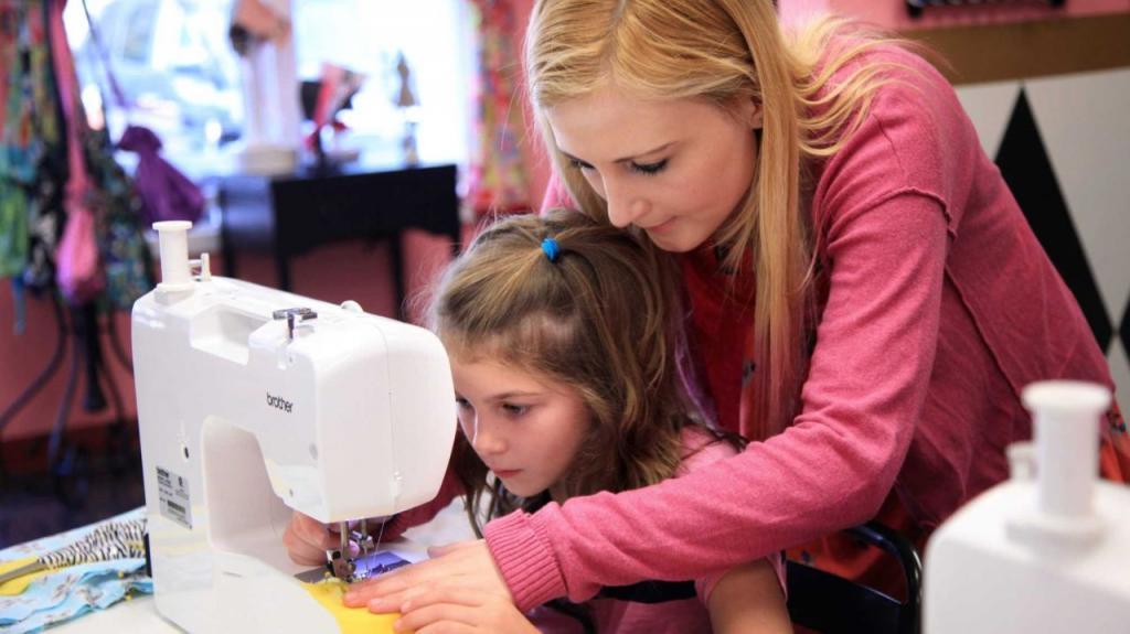 Учим шить на машинке - увлекательно и полезно
