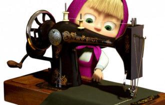 Учим шить на машинке — увлекательно и полезно