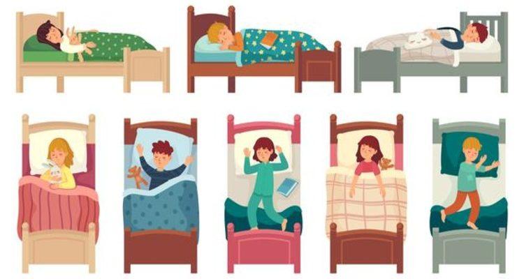 детский сон в тихий час