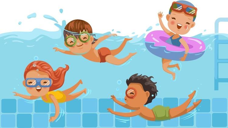 Плавание повышает уровень развития речи  у детей